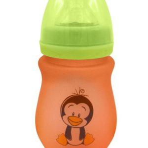 VUVU Silicone Coated Borosilicate Glass Baby Feeding Bottle